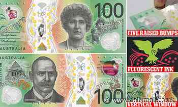 Australia's new $100 note is released into circulation