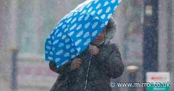 Torrential downpours to bring widespread flooding across UK, Met Office warns