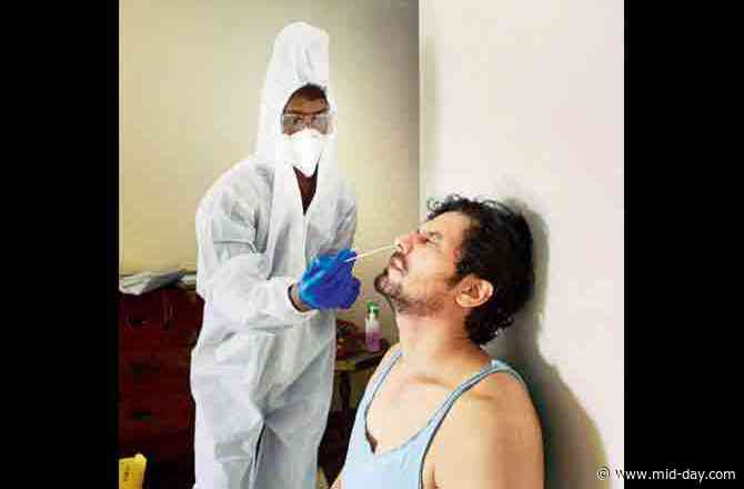 Playing safe! Randeep Hooda takes COVID-19 test before he starts shooting for Unfair and Lovely