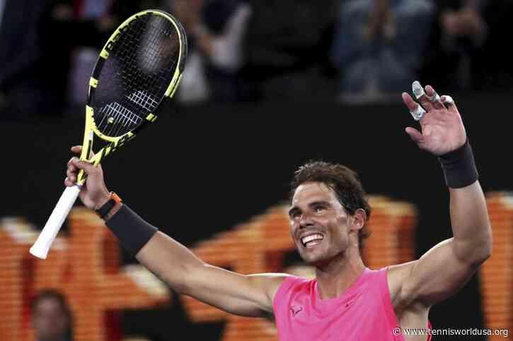 Rafael Nadal: I was watching golf when Novak Djokovic got disqualified from US Open