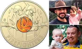 New $2 coin is launched to honour courageous firies who battled horror summer of bushfire blazes