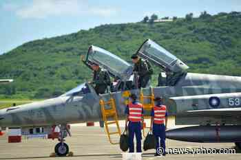 Pilot killed as Taiwan fighter jet crashes into sea