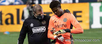 """Andre Blake exits Philadelphia Union game with hand injury: """"It's not good"""""""
