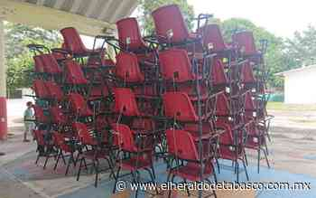 Entregan 744 pupitres en escuelas de Jalpa de Méndez - El Heraldo de Tabasco