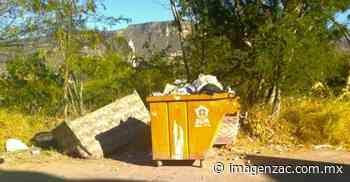 Denuncian mal uso de los contenedores de basura en Jalpa - Imagen Zacatecas - Imagen de Zacatecas, el periódico de los zacatecanos