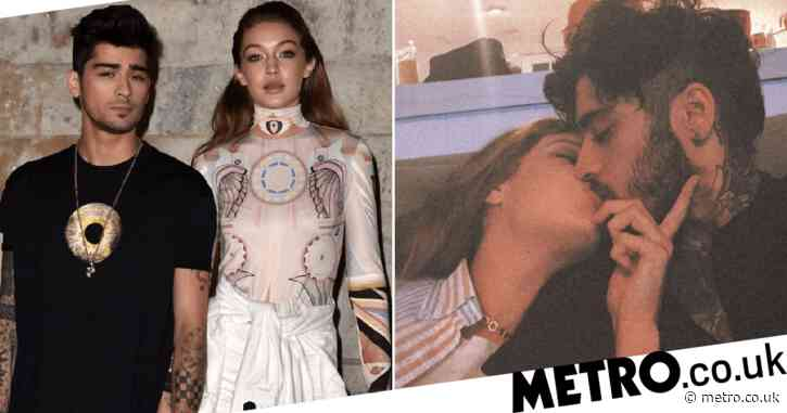 Gigi Hadid teases boozy date night with Zayn Malik after giving birth: 'It's about to be lit'
