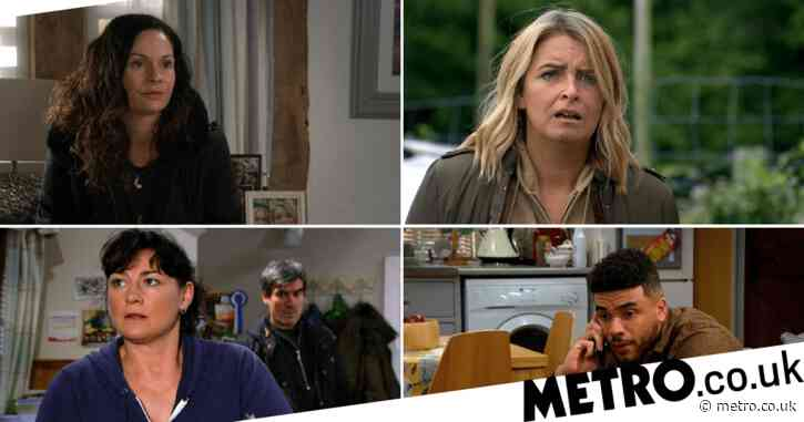 Emmerdale spoilers: Two big couples split, Moira's dark secret and Jamie's revenge