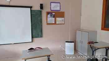 El colegio Santísima Trinidad, de Valdepeñas, ya cuenta con purificadores de aire con filtro HEPA - Lanza Digital - Lanza Digital