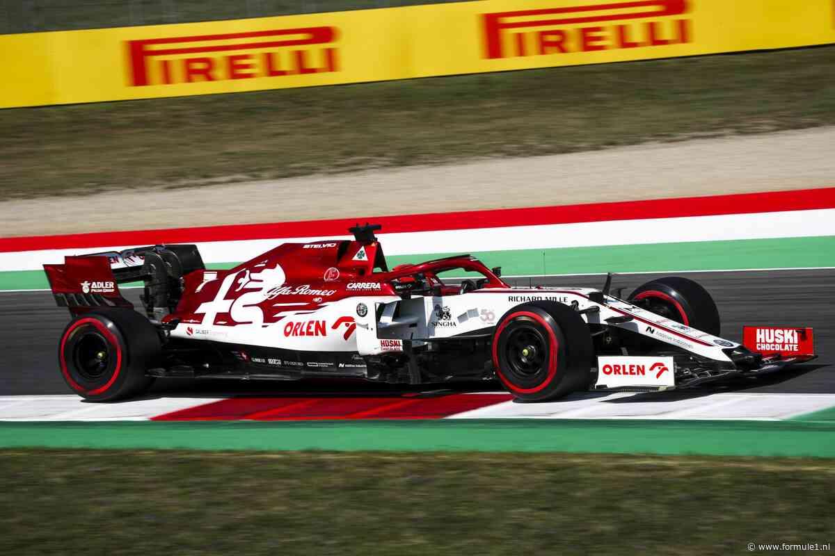 Alfa Romeo blijft in 2021 in F1, nog geen duidelijkheid over verdere toekomst