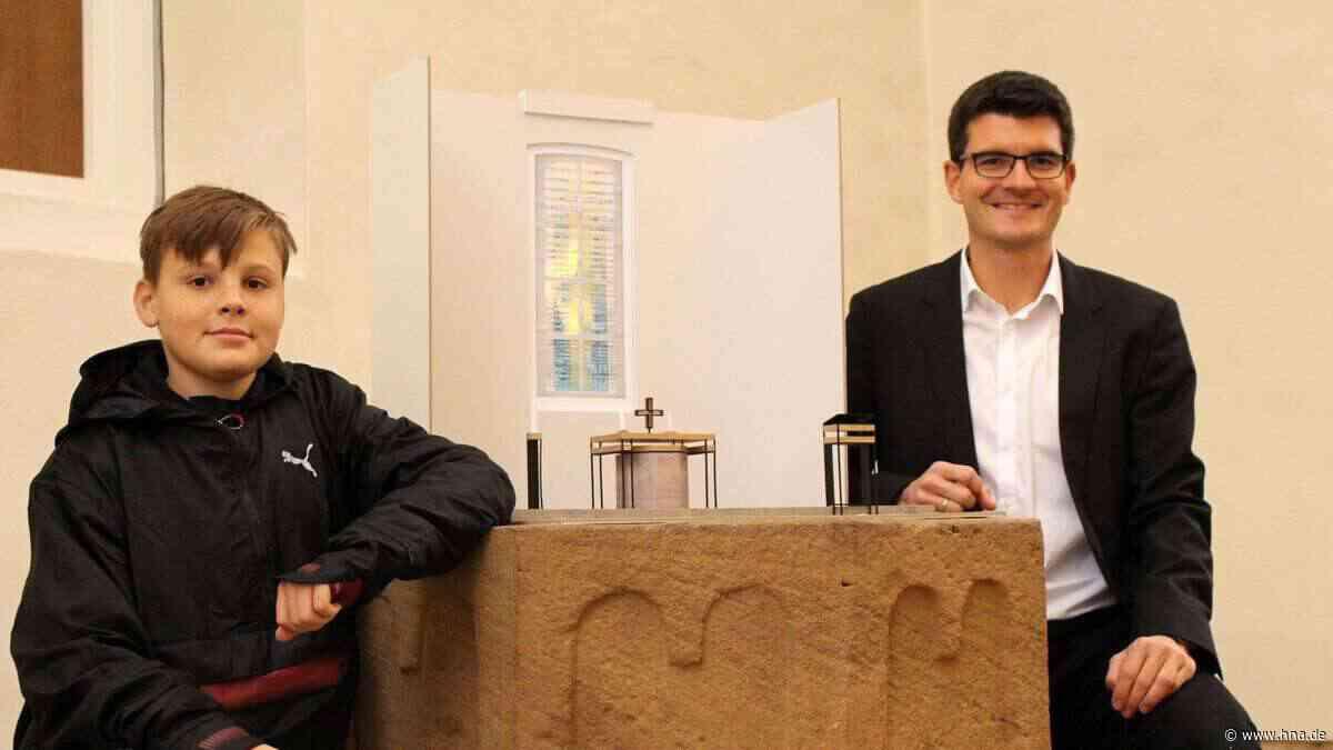 Evangelische Kirche in Schwarzenberg mit neuem Chorraum - HNA.de