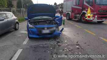 Video: Chiampo, incidente in via Europa | G. di Vicenza - Il Giornale di Vicenza