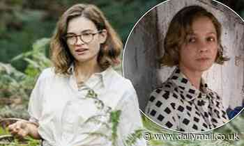 Lily James stars alongside Carey Mulligan and Ralph Fiennes in Netflix drama The Dig