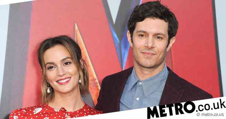 Adam Brody and Leighton Meester 'calling their newborn son Joe Biden' until after the election