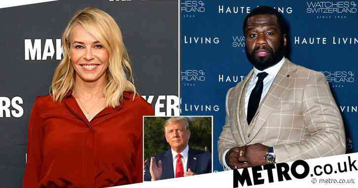 Chelsea Handler reveals 50 Cent was 'screwing around' by announcing he was voting for Trump