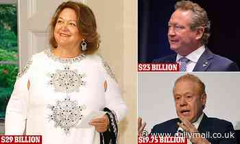 Australian Financial Review dubs Gina Rinehart country's richest person in Rich List