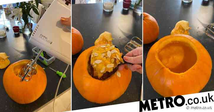 Mum shares hack to easily carve a pumpkin in a few minutes