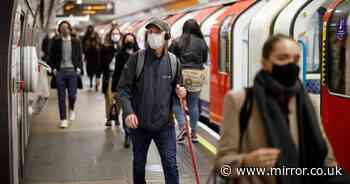 Coronavirus R rate 'almost 3 in London - but below 1 in one part of England'