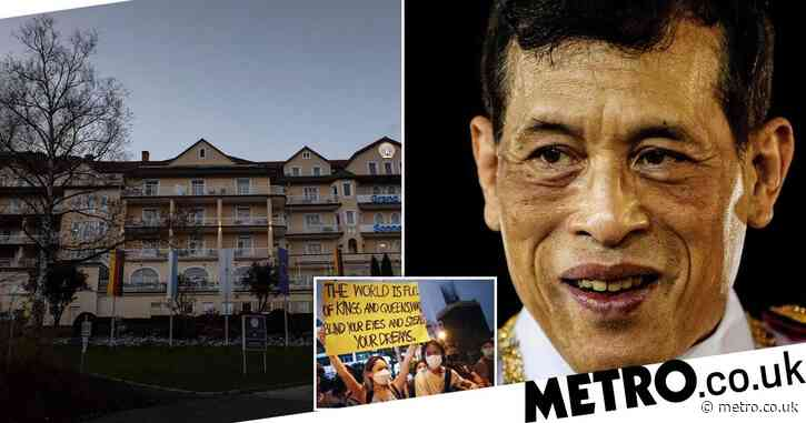King who fled with harem to Germany warned against ruling Thailand from afar