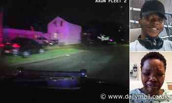 New footage of Illinous police shooting released shows chase and shooting aftermath