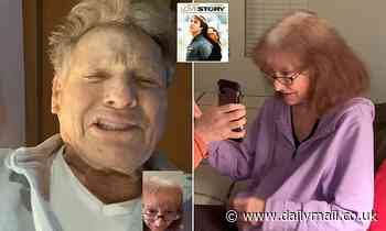 Actor Ryan O'Neal FaceTimes Love Story fan living with Alzheimer's to say goodnight in person