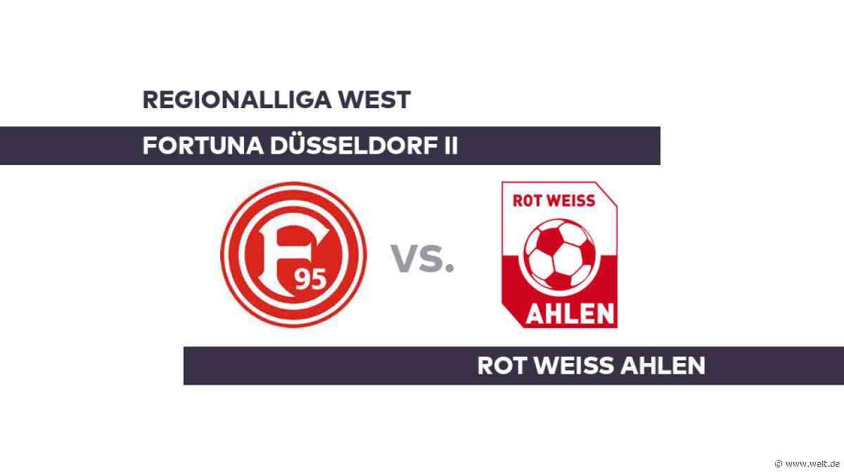 Fortuna Düsseldorf II - Rot Weiss Ahlen: Ahlen zu Gast bei Düsseldorf - Regionalliga West - DIE WELT