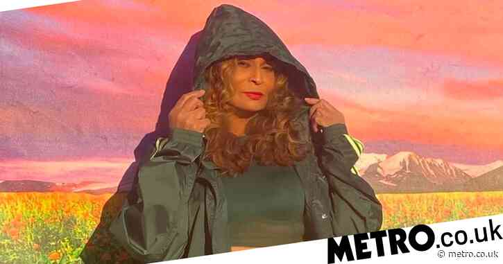 Beyonce's mum Tina Knowles models the new Adidas x Ivy Park Drip 2 collection and slays