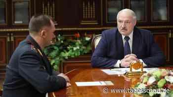 Belarus: Minsker Polizeichef wird Innenminister