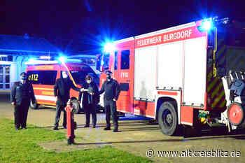 Stadt investiert 500.000 Euro für zwei neue Fahrzeuge der Ortsfeuerwehr Burgdorf - AltkreisBlitz