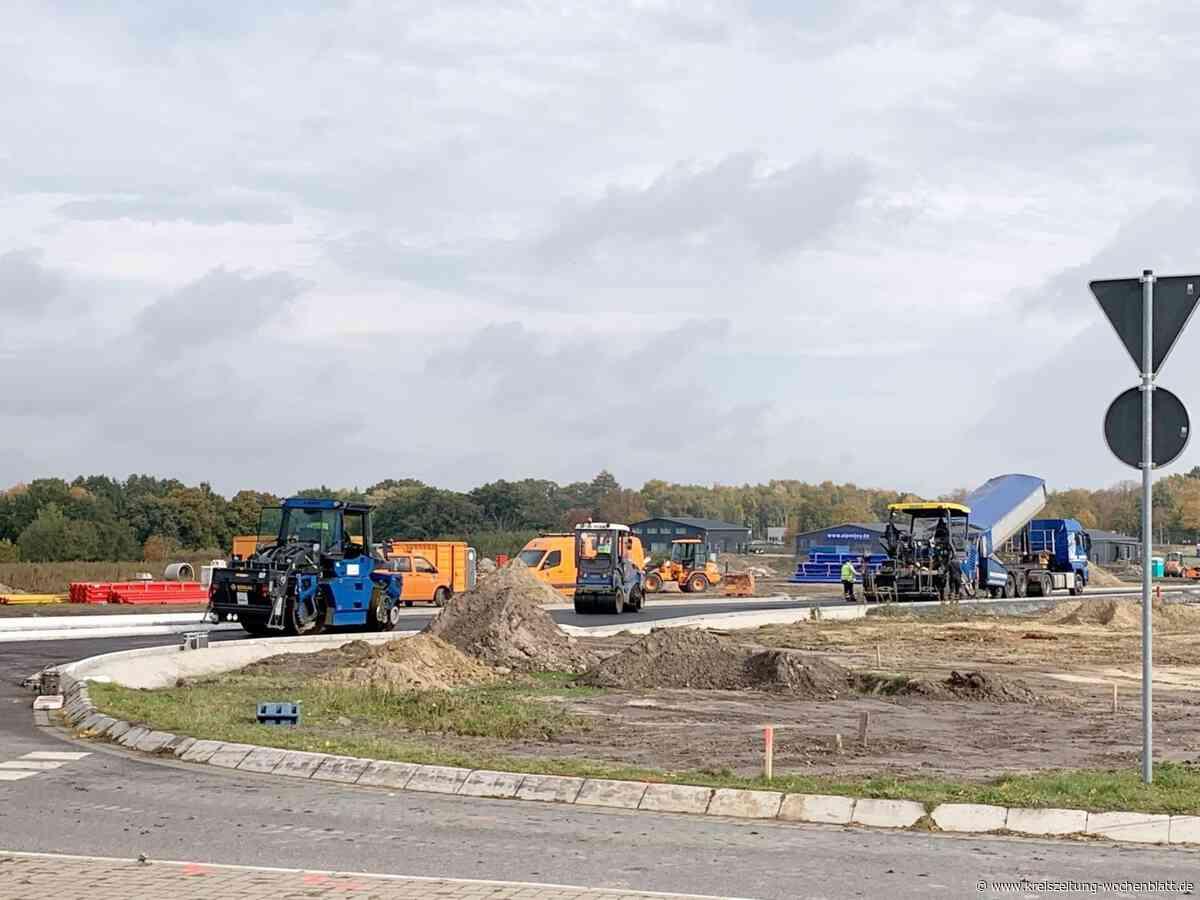 Bauarbeiten am Kreisel - Harsefeld - Kreiszeitung Wochenblatt