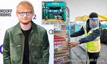 Ed Sheeran responds to Marcus Rashford's call for free half term meals