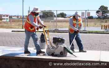 Comienza la construcción de ciclopista en Huamantla - El Sol de Tlaxcala