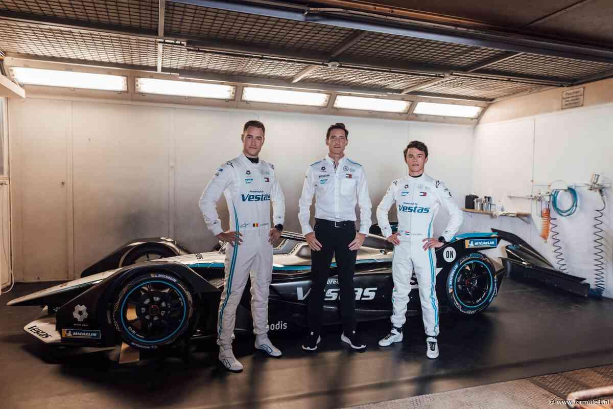 Mercedes gaat in Formule E door met Nyck de Vries en Stoffel Vandoorne