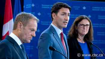 Trudeau, EU leaders meet ahead of U.S. election to reinforce support of world order