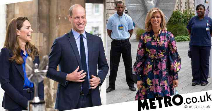 Prince William 'wanted to hug Kate Garraway' after hearing about Derek Draper's coronavirus battle