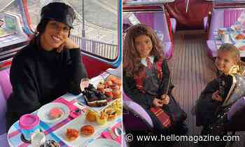 Rochelle Humes treats daughters to unbelievable Halloween afternoon tea