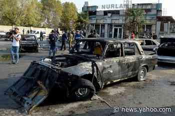 Karabakh city hit by heaviest shelling in month of fighting: official