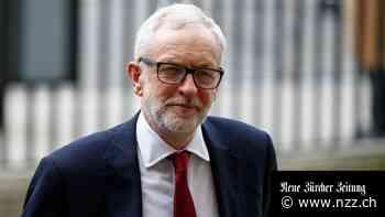 Die britische Labour-Partei suspendiert ihren ehemaligen Vorsitzenden Jeremy Corbyn