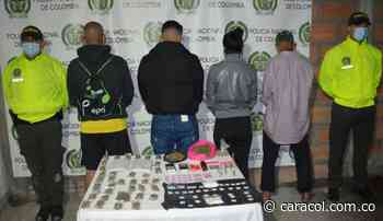 Desarticulan banda criminal de microtráfico en Guatapé - Caracol Radio