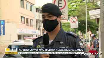 Alfredo Chaves, ES, está há 6 anos sem assassinatos - G1