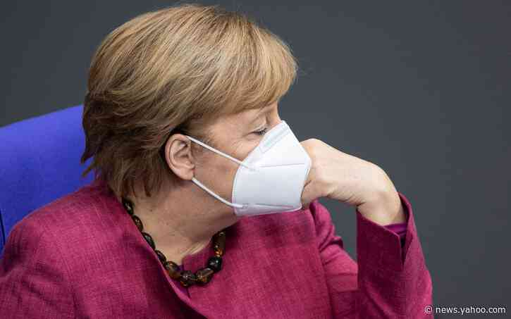 Angela Merkel heckled in German parliament after warning against Covid 'lies and disinformation'