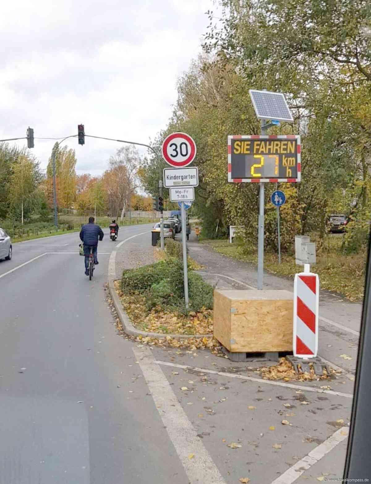 Holzwickede aktuell: Das Tempo im Blick - Unna - Lokalkompass.de