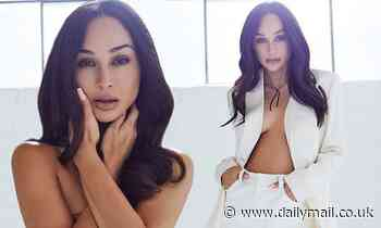 Cara Santana smolders on the cover of LaPalme as she details optimistic outlook for new year