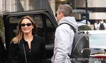 Sam Faiers showcases her penchant for all things designer