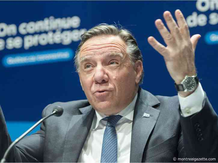 'Quebecers don't want this,' Legault snaps back at PQ 25 years after referendum