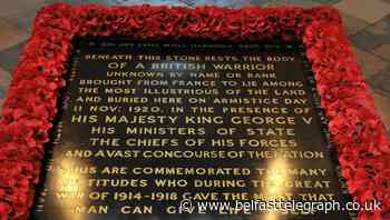 Westminster Abbey to mark centenary of burial of Unknown Warrior