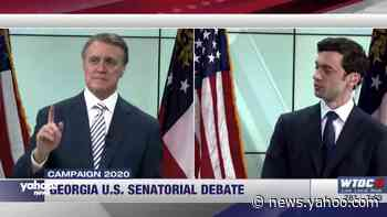 Ossoff slams Perdue in Senate debate: 'You're attacking the health of the people that you represent'