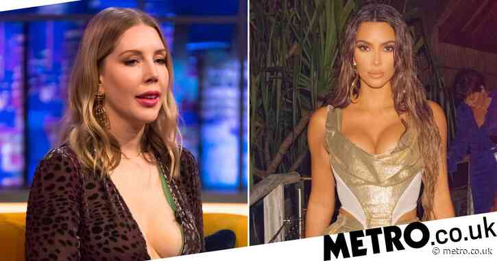 Katherine Ryan 'fascinated' by reaction to Kim Kardashian's controversial birthday post: 'We live in a serious yet ridiculous place'