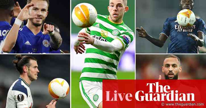 Europa League clockwatch: Antwerp v Spurs, Arsenal v Dundalk and more – live!