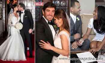 The One Show hosts' stunning wedding photos: Christine Lampard, Alex Jones, more