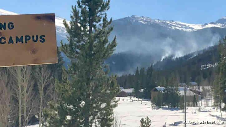 Snow And Smoke: New Photos Of CSU Mountain Campus Show Cameron Peak Fire Smoldering Despite Snow On The Ground